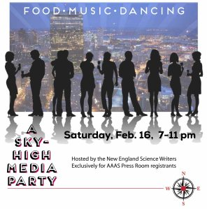 Party Flyer designed by Deb Perugi